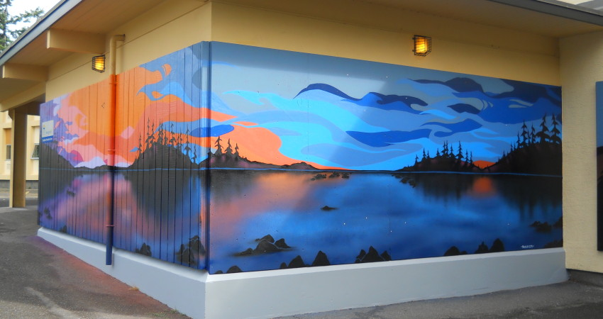 Outdoor Mural Painting