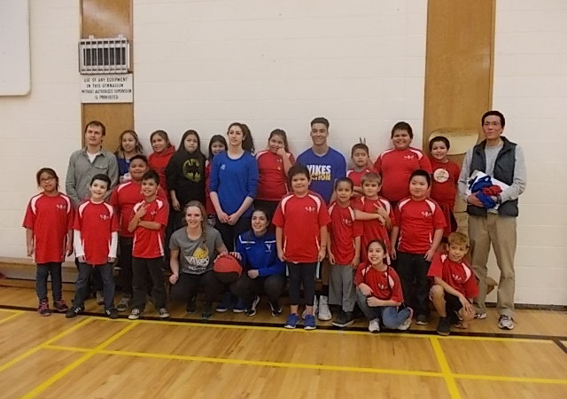 UVIC Vikes played basketball with Craigflower  – Monday February 15, 2016