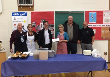Thank you to the Ralmax group for their $2,000 donation for our Breakfast Program